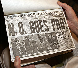 New Orleans Goes Pro
