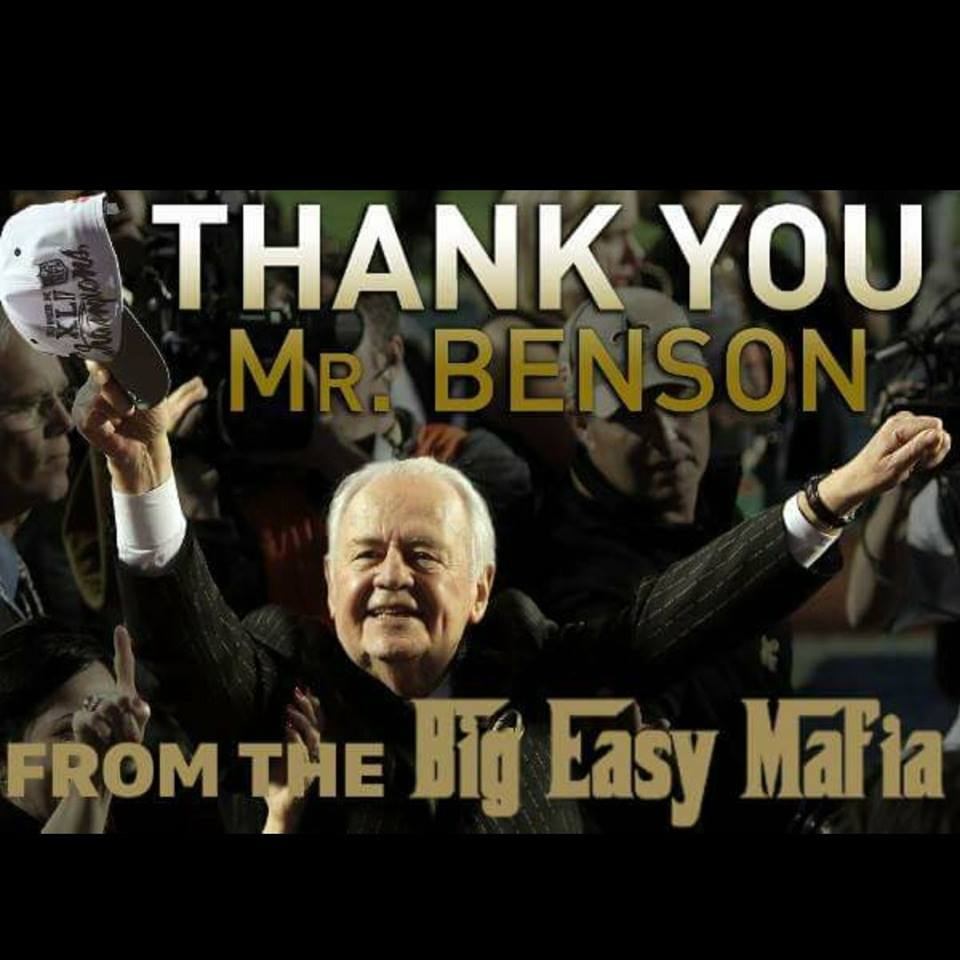Car Dealerships New Orleans >> New Orleans Saints Owner Tom Benson Dies At The Age Of 90